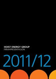 hoist ENERGY GRoup