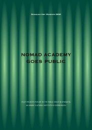 NOMAD ACADEMY GOES PUBLIC - lightscape