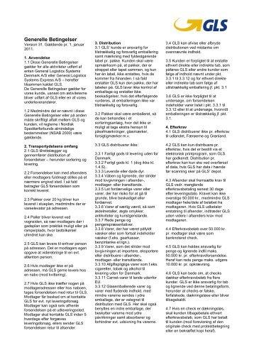 Generelle Betingelser - A/S ScanNet
