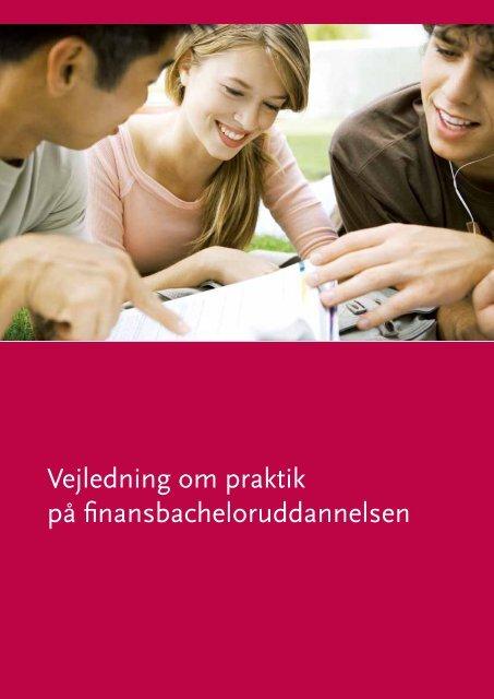 Vejledning om praktik på finansbacheloruddannelsen