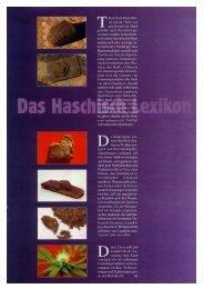 1. Haschisch-Lexikon