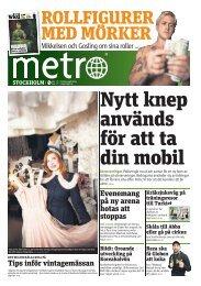 Tips inför vintagemässan Evenemang på ny arena hotas att ... - Metro