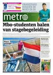 Mbo-studenten balen van stagebegeleiding - Metro