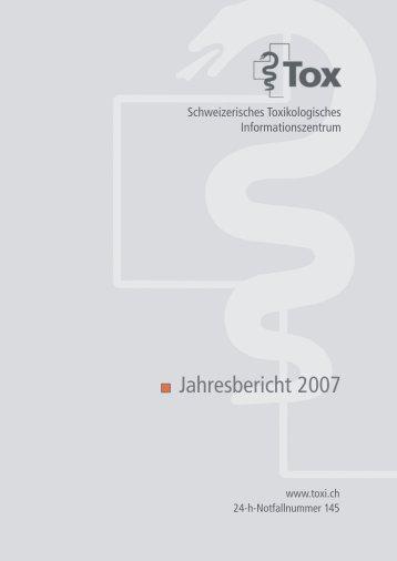 Toxi Jahresbericht 2007 pdf - verein methadon-selbsthilfegruppe zh
