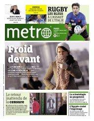 Le retour inattendu de lacensure - Metro