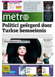 Politici geërgerd door Turkse bemoeienis - Metro