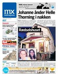 Johanne ånder Helle Thorning i nakken - Metro