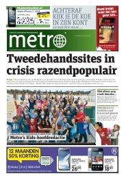 Tweedehandssites in crisis razendpopulair - Metro