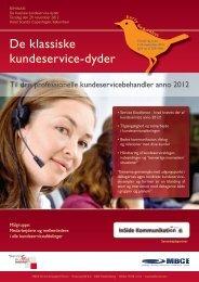 De klassiske kundeservice-dyder - Service & Support Forum