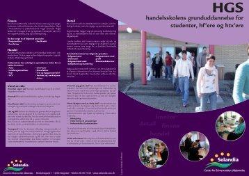 handelsskolens grunduddannelse for - Selandia CEU