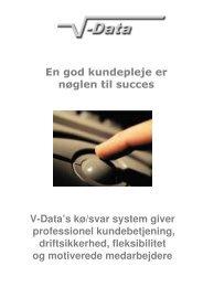(Microsoft PowerPoint - Voice-respons-K\370-Svar System) - V-Data