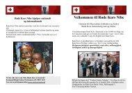 Folder - Velkommen til Røde Kors Nibe