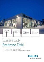 Case study - Philips Lighting