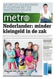 Nederlander: minder kleingeld in de zak - Metro