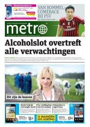 Alcoholslot overtreft alle verwachtingen - Metro
