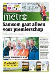 Samsom gaat alleen voor premierschap - Metro