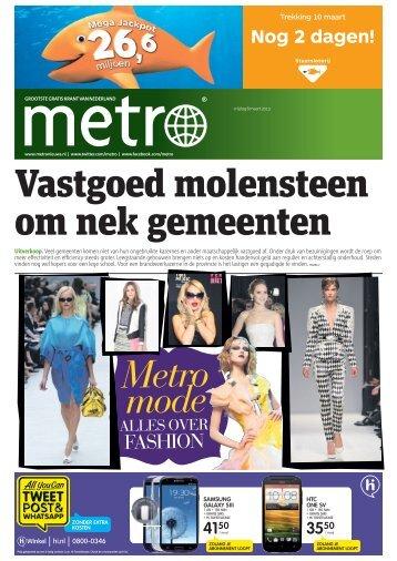 Vastgoed molensteen om nek gemeenten - Metro