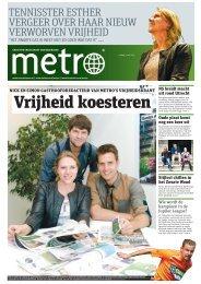 Vrijheid koesteren - Metro
