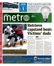 retrieve capsized boat: Victims' dads - Metro