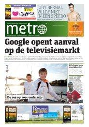 Google opent aanval op de televisiemarkt - Metro