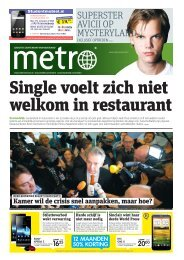 Single voelt zich niet welkom in restaurant - Metro