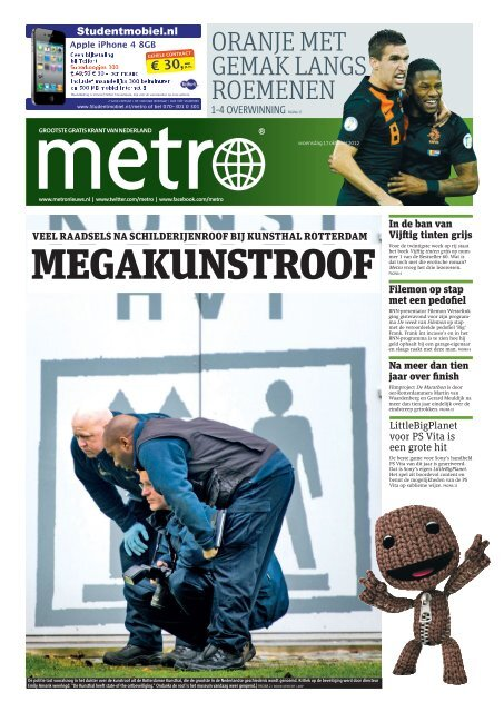 MEGAKUNSTROOF - Metro