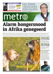 Alarm hongersnood in Afrika genegeerd - Metro