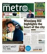 Winnipeg BIZ highlights the heart of the city - Metro