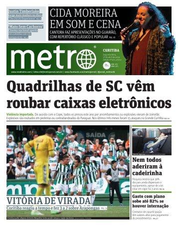 Quadrilhas de SC vêm roubar caixas eletrônicos - Metro