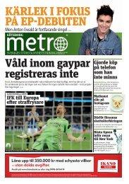 IFK till Europa e er stra rysare Gjorde köp på telefon som han ... - Metro