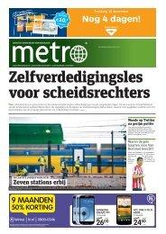 Zelfverdedigingsles voor scheidsrechters - Metro