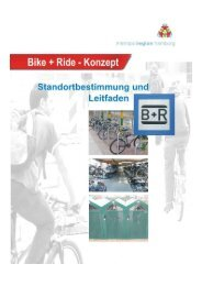 Bike+Ride-Konzept der Metropolregion Hamburg