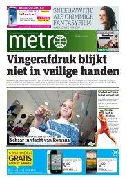 Vingerafdruk blijkt niet in veilige handen - Metro
