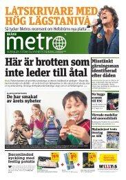 De har smakat av årets nyheter Misstänkt gärningsman ... - Metro