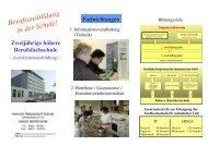 Berufsausbildung in der Schule! - Heinrich Metzendorf Schule