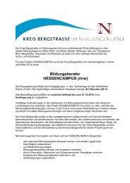 Bildungsberater HESSENCAMPUS (m/w) - Heinrich Metzendorf ...