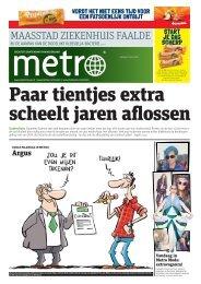 Paar tientjes extra scheelt jaren aflossen - Metro