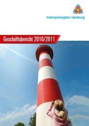 Geschäftsbericht 2010/2011 - Metropolregion Hamburg