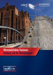Studie Wirtschaftsfaktor Tourismus in der Metropolregion
