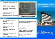Page 1 -- Organisation einer Abschlussfeier - Enge Zusammenarbeit ...
