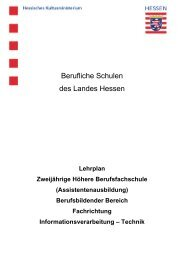 Fachrichtung Informationsverarbeitung - Technik - Berufliche ...