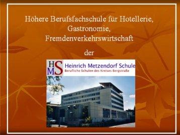 Rundgang - Heinrich Metzendorf Schule