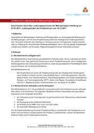 Leitlinien für Leitprojekte der Metropolregion Hamburg beschlossen ...