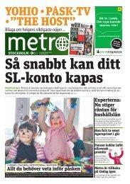 Påsk - Metro