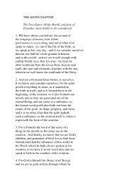 Threefold Life of Man, Chapter 6