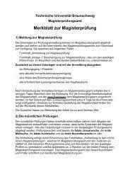 Merkblatt zur Magisterprüfung - Medienwissenschaften ...