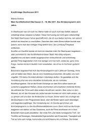 Kurzfilmtage Oberhausen 2011 Milena Virchow Mein ...