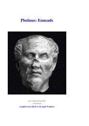 Plotinus: Enneads - AwardSpace