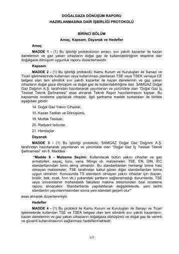 DOĞALGAZA DÖNÜŞÜM RAPORU - Ondokuz Mayıs Üniversitesi ...