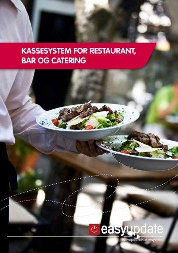 Kassesystem for restaurant, bar og catering - Easyupdate